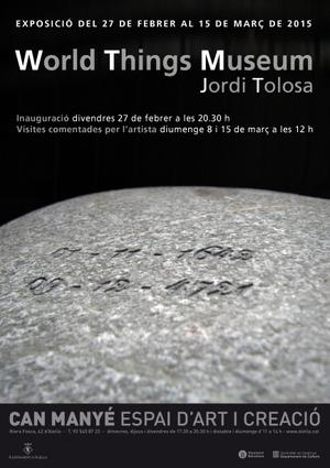 Exposició Jordi Tolosa