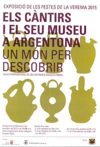 Exposició Càntirs d'Argentona