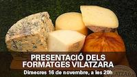 Presentació de formatges