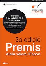 Premis Alella Valora l'Esport