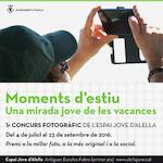 """Concurs de fotografia """"Moments d'estiu"""""""