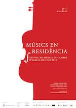 Cartell Músics en Residència