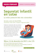 Xerrada. Seguretat infantil en cotxe