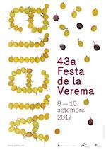 Cartell Festa Verema 2017