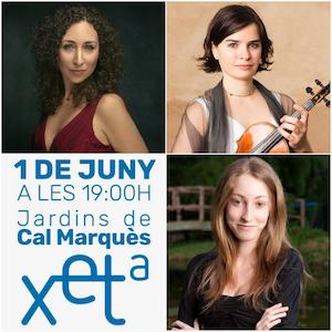 Cristina Segura, Ester Lecha i Helena Satué