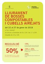 Lliurament de bosses compostables
