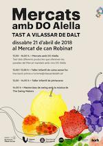 Mercat amb DO Alella. Vilassar de Dalt