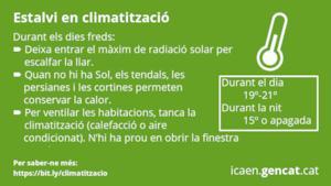 climatització