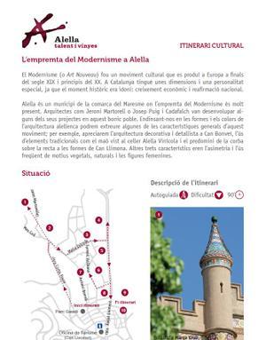 L'empremta del Modernisme a Alella